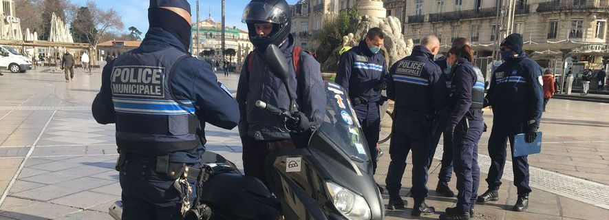 Verbalisés dans le centre-ville, les livreurs en scooter veulent être reçus par le maire de Montpellier