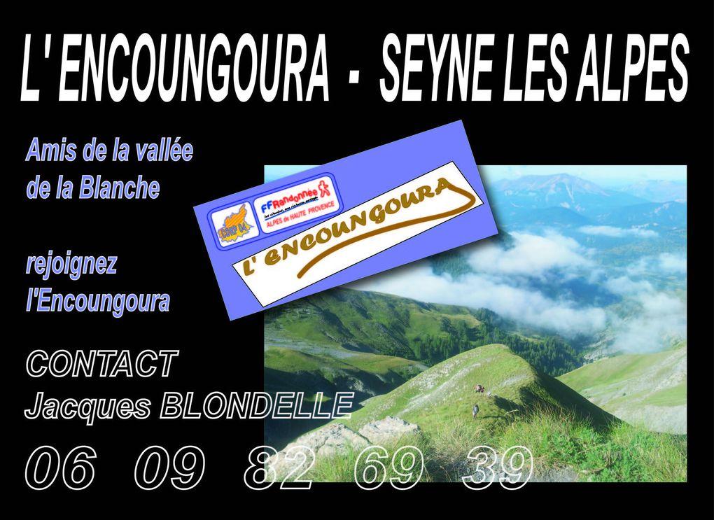 ENCOUNGOURA  - PAYS de SEYNE - VALLEE de LA BLANCHE - album photos -