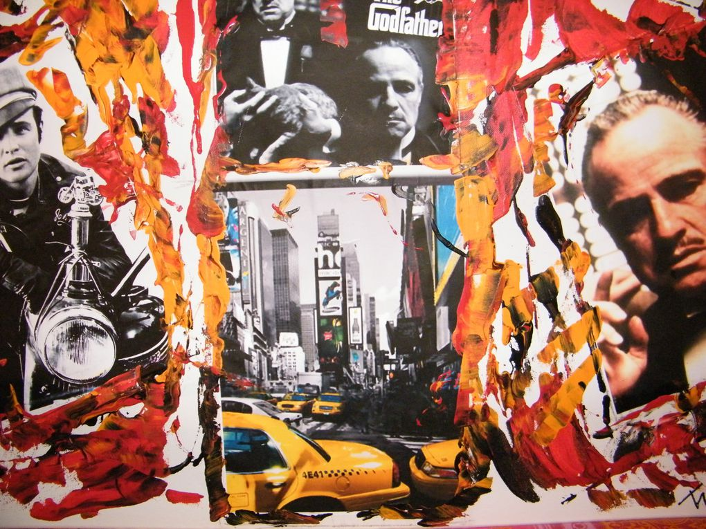 Album - collages-sur-toiles