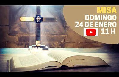 Eucaristía Domingo 24 de Enero 11h