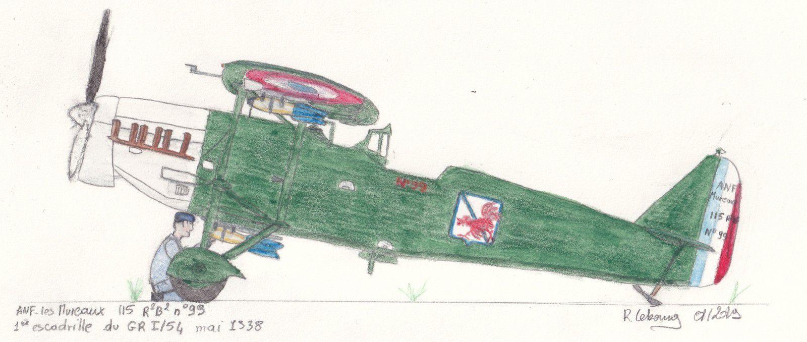 Bien que spécialisé dns l'attaque en vol rasant le GR I/54 n'est pas concerné : il a été replié pour se expérimenter et se convertir sur le Breguet 693 !