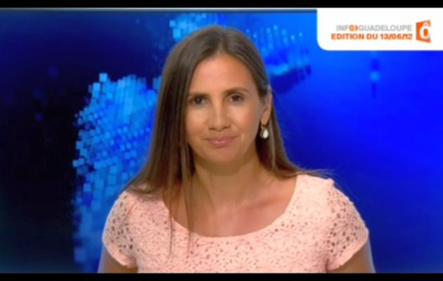 [2012 06 14] LAETITIA BROULHET - FRANCE O - INFOS GUADELOUPE @07H15