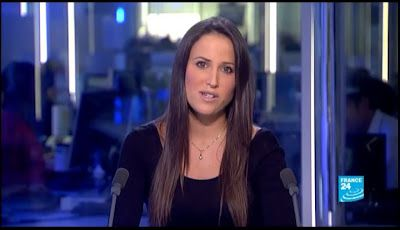 [2012 10 23] JESSICA LE MASURIER - FRANCE 24 en - THE NEWS @18H00