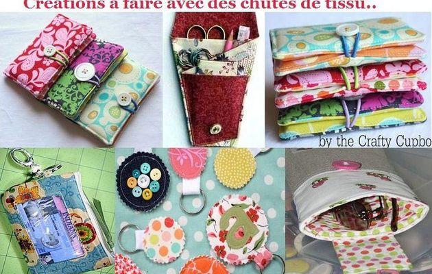 7 créations à faire en restes de tissu