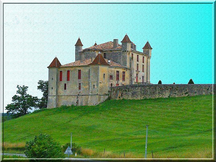 """Diaporama château """"Cantegrive"""" à Monbadon"""