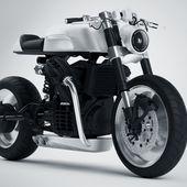Moto CX500 Streamline aluminium par Dimitri Bez - Blog Esprit Design