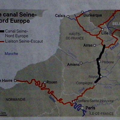 Département de l'Oise : Le chantier du canal Seine-Nord-Europe