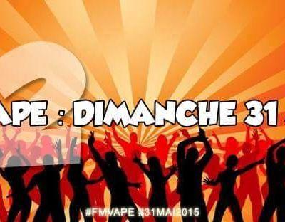 La Flashmob de la Vape, des rassemblements partout en France