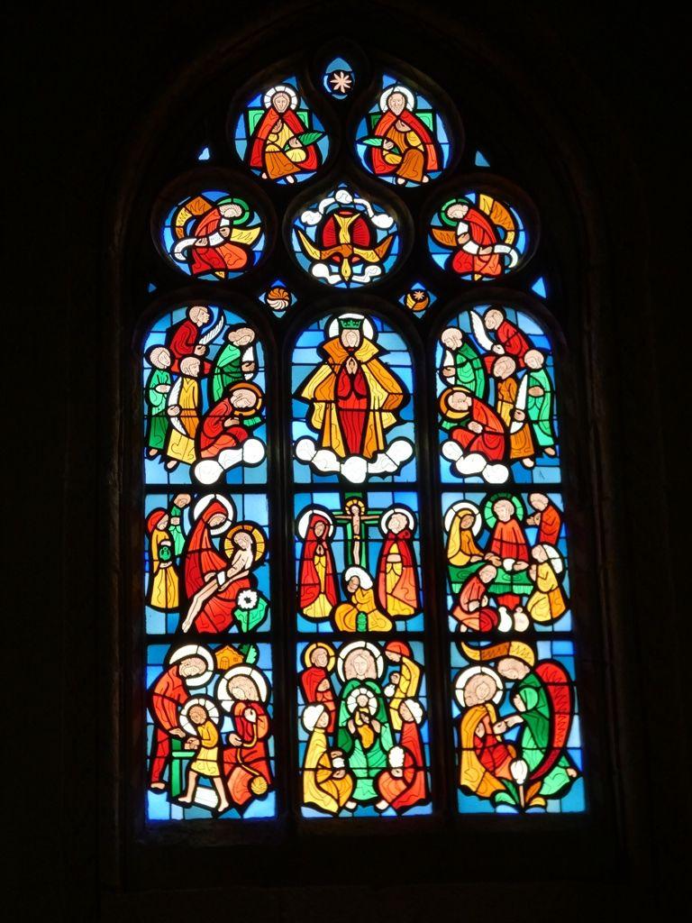 L'église Saint Edern à Plouedern
