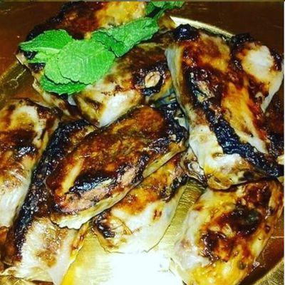 Nems au poulet et à la coriandre cuisson au four