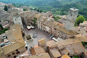San Giminiano et achats toscans