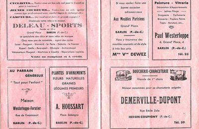 La fête de la reconnaissance et du souvenir 1950 (suite)
