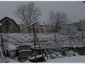 La Mure neige de Février