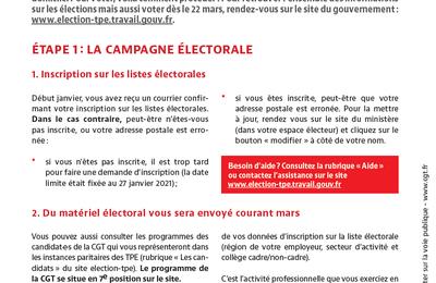 Comment voter aux élections professionnelles aux TPE ?