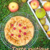 Tarte rustique aux pommes - Les Secrets de Cuisine de Christine
