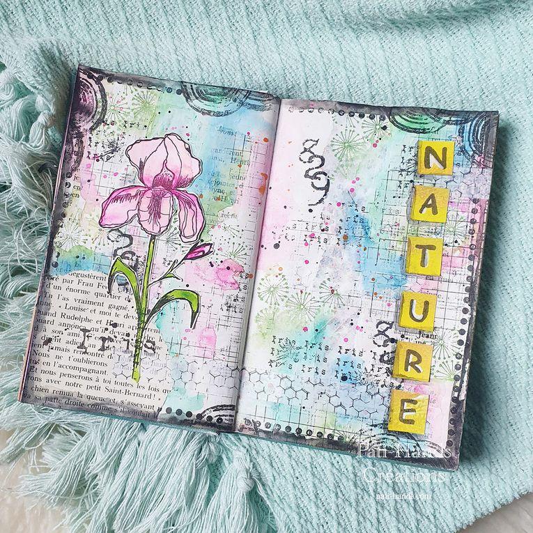 Art Journal - De la peinture plein les doigts - Défi 11 (1)