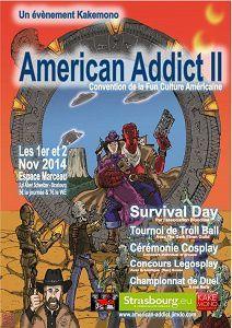 American Addict 2 - Strabourg