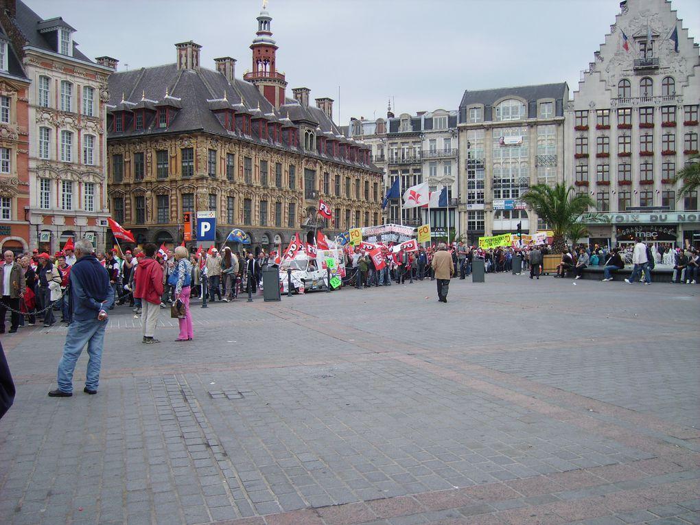 Album - greve du 23 Septembre 2010 à Lille