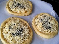Pizzas turques au fromage