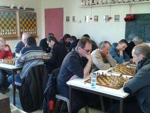 Interclubs échecs Nationale 4 Provence II Orange Digne