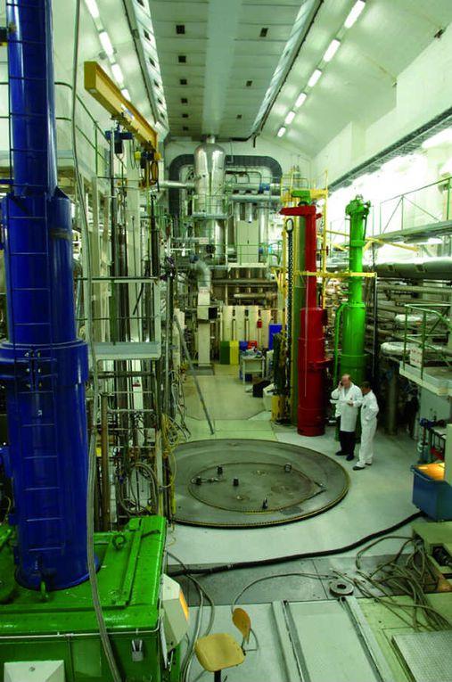 Photos du hall du réacteur (source IFE)