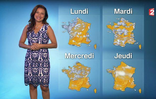 📸1 📺1 ANAIS BAYDEMIR ce soir pour LA METEO @France2tv #vuesalatele