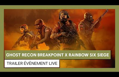 [ACTUALITE] TOM CLANCY'S GHOST RECON BREAKPOINT - L'OPÉRATION AMBER SKY, UN EVENT CROSSOVER AVEC TOM CLANCY'S RAINBOW SIX SIEGE DISPONIBLE DÈS LE 21 JANVIER