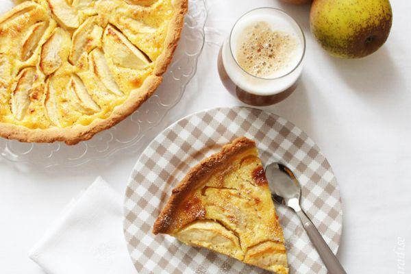 Tarte rustique aux pommes-amande