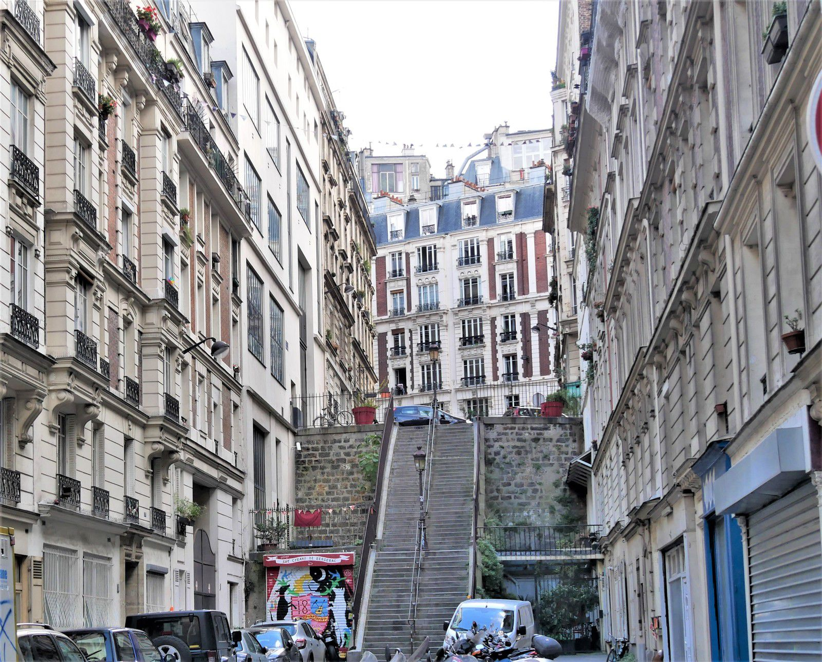 L'escalier vers Francoeur