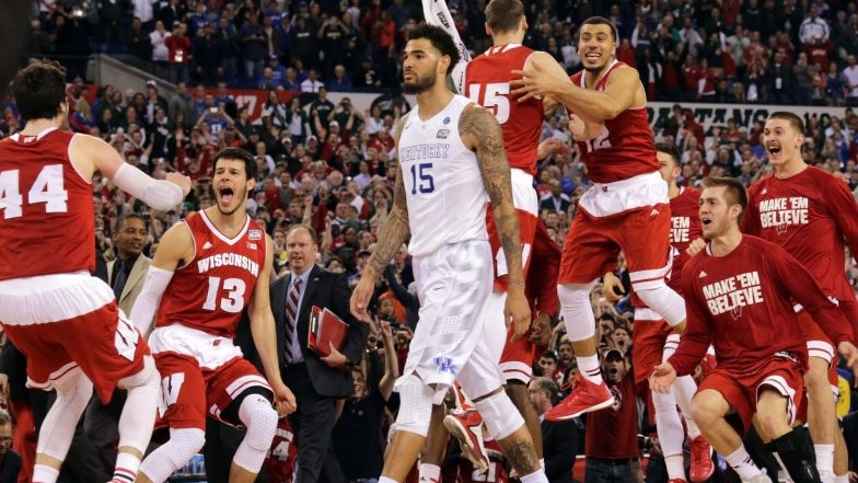 Final Four: Wisconsin a mis fin au rêve de Kentucky