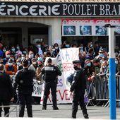 """""""Macron démission"""", échauffourées et huées : la visite mouvementée du président à Montpellier"""