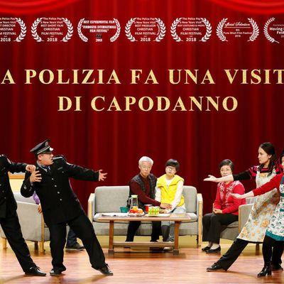 La polizia fa una visita di Capodanno