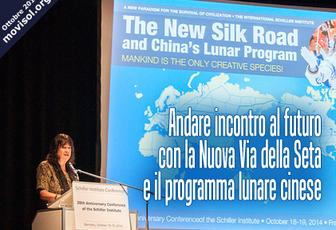 Andare incontro al futuro con la Nuova Via della Seta e il programma lunare cinese
