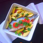 Dorade à la portugaise - Les Secrets de Cuisine de Christine