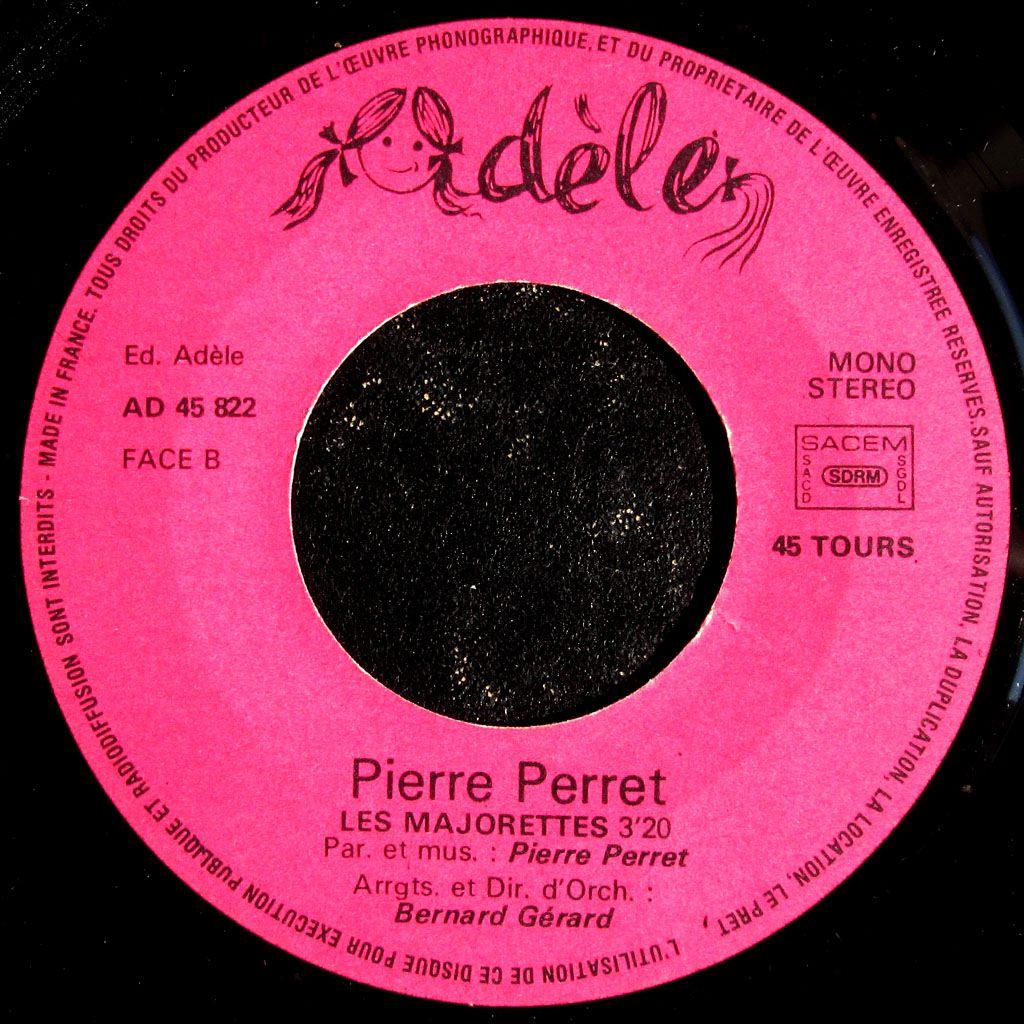 Pierre Perret - Le zizi / Les majorettes - 1975