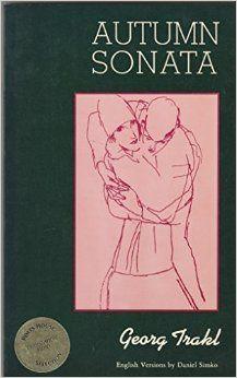 le chanteur Alibert, le compositeur Vincent Scotto, Autumn Sonata du poète autrichien Georg Trakl 1887-1914, Jean-Marc Bernard 1881-1915 poète dauphinois,