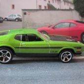71 MUSTANG BOSS 351 HOT WHEELS 1/64 - FORD MUSTANG BOSS MACH1 351 1971 - car-collector.net