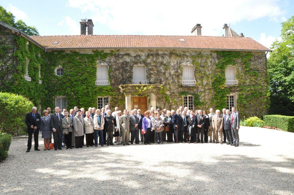 Colombey-Les-Deux-Eglises le 9 juin 2012: Délégation de 55 personnes.
