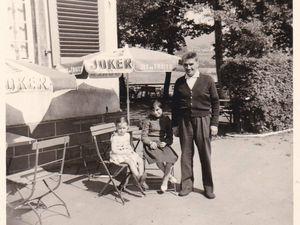 La Philippsbourg en 1961. Sur la 1ère photo M. REGNERI