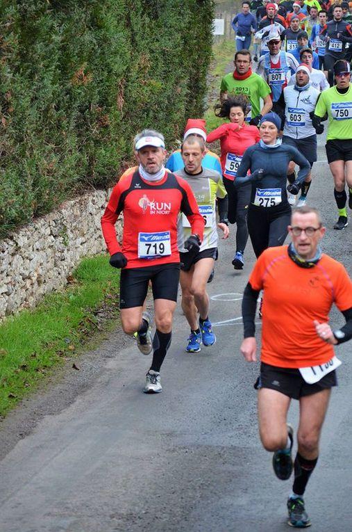"""Photos Magasin de Running """"Foulées Niort"""" et Mylène Renaudon."""