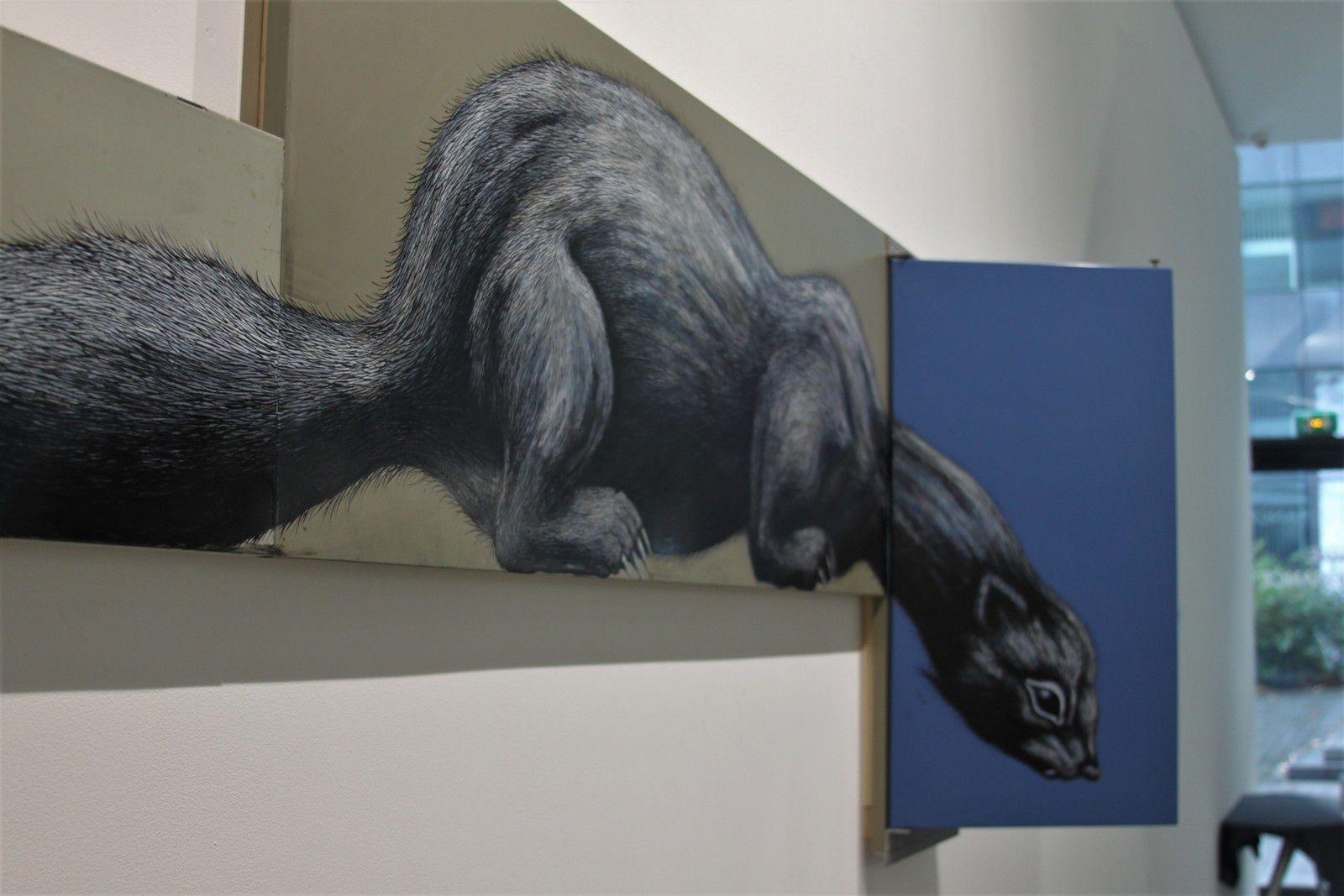 Roa solo show @ Itinerrance galerie