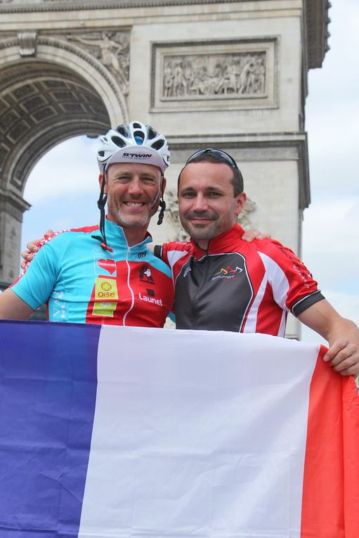 Merci Cyril pour tous ces moments et encore félicitations au recordman et premier Enduroman français