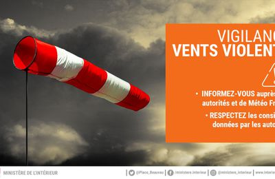Vigilance orange vents violents