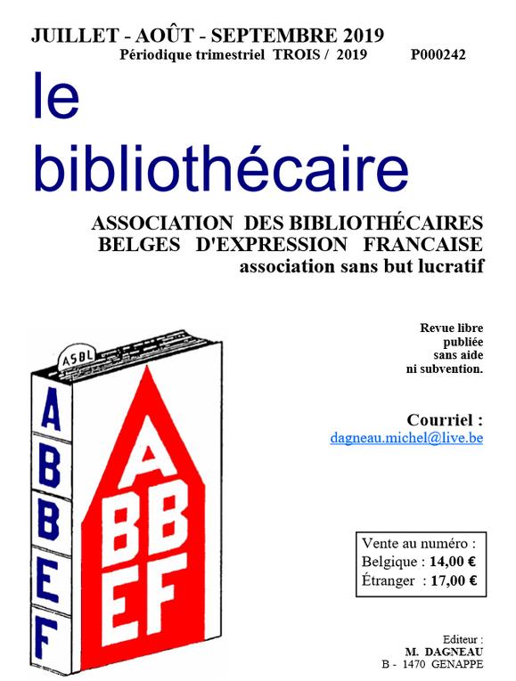 """""""Instant"""" d'Evelyne Dasno dans Le bibliothécaire"""