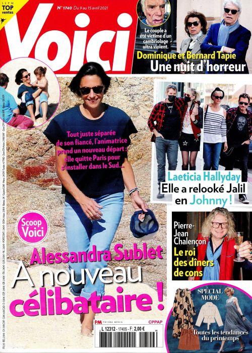 La une des hebdomadaires people parus ce vendredi  : Charlotte Gainsbourg, Stromae, Alessandra Sublet.