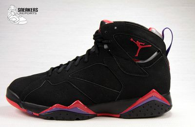 Nike Air Jordan VII Black Charcoal Raptors Rétro 2012