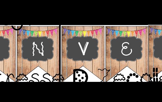Affichage Banderole de Bienvenue