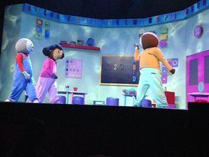 T'Choupi fait danser l'alphabet au Casino de Paris !