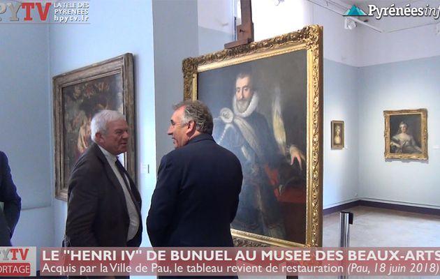 Henri IV de retour au Musée des Beaux Arts (18 juin 18) | HPyTv La Télé de Pau