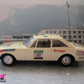 PEUGEOT 504 COUPE V6 RALLYE 1978 SOLIDO 1/43 - car-collector.net